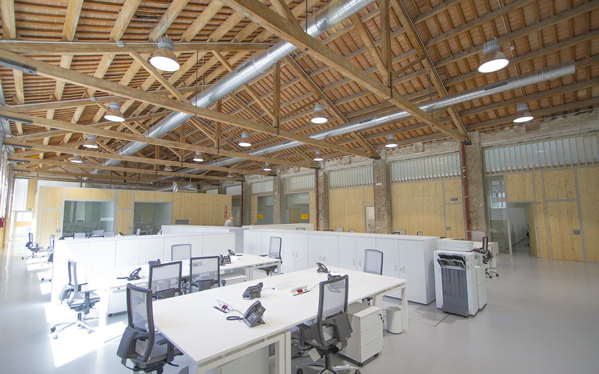 oficinas industriales reformadas para rodajes barcelona